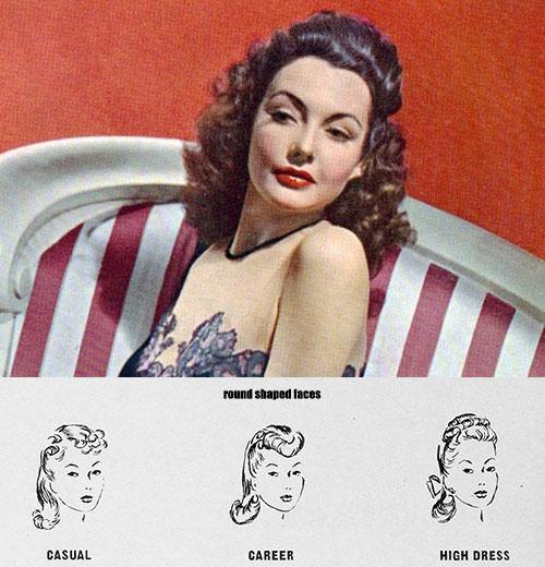 1940's hairdos for round faces---Lynn-Bari