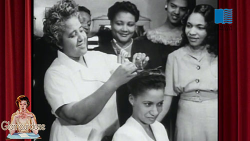 hairstyles for black women 1940's