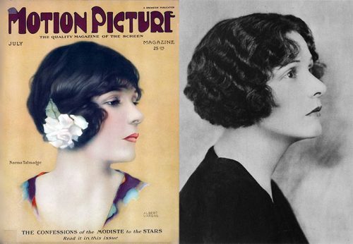 Bobbed hair 1920's - Norma-Talmadge
