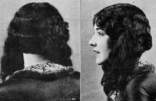 Aileen Pringle - 1920's bob for long hair