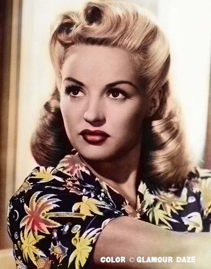 Betty Grable - Victory Rolls