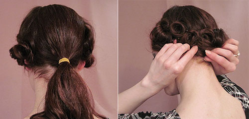 1920 S Hairstyles For Long Hair Faux Bob Glamour Daze