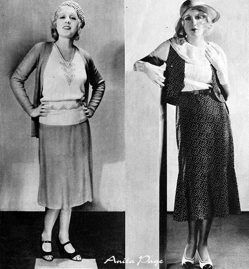 Summer-Dresses-1931 - Anita Page