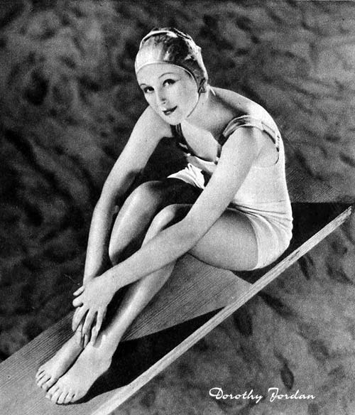Summer Swimwear 1931 - Dorothy Jordan
