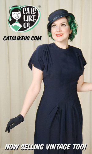 Cats Like Us - Vintage Clothing