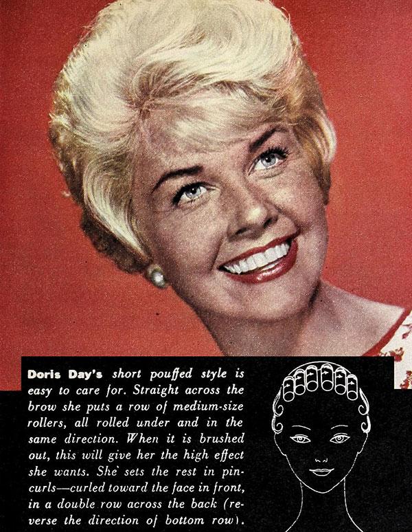 Doris Day - Hollywood hairstyles 1960