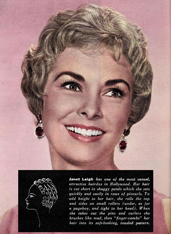 Janet Leigh - Hollywood Hair 1960