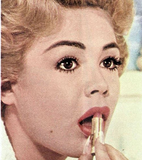 sandra-dee-1960s-makeup-tips