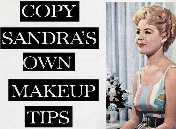 Sandra Dee's 1960s Makeup Tips