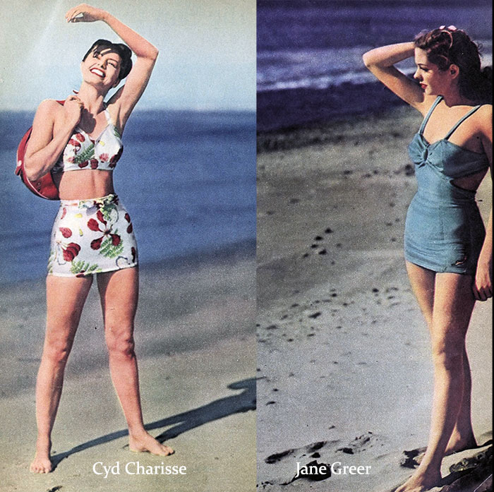 1940s-bathing-suits---Cyd-Charisse-and-Jane-Greer
