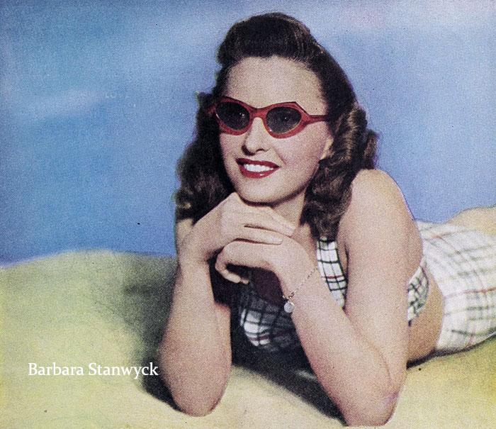 1940s-beach-sunglasses---Barbara-Stanwyck