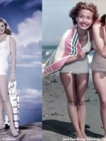 Beautiful 1940's Swimsuit Legs of Hollywood - Esther Williams, Jane Powell and Liz Taylor