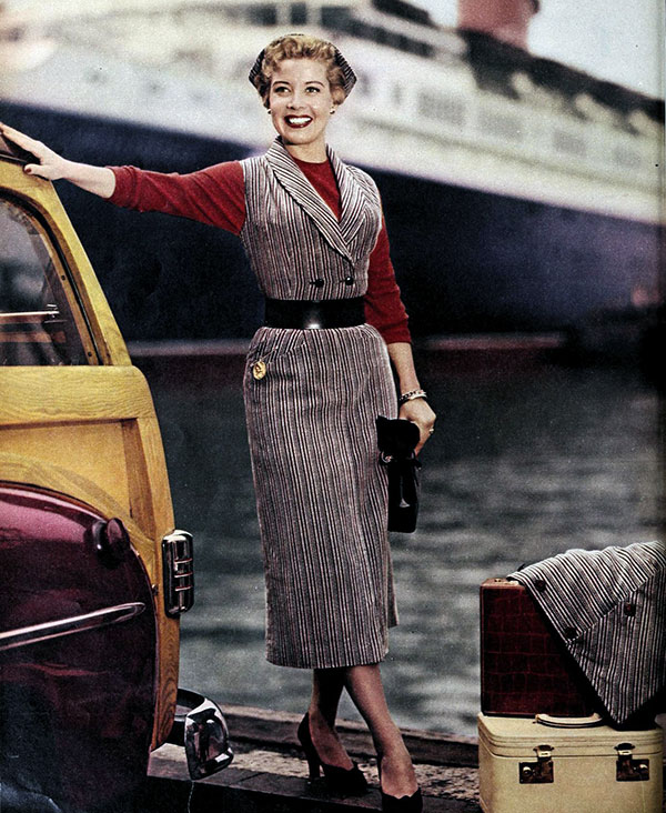 Fall fashions for 1952 - Here's what Hollywood stars wore