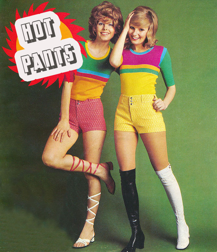 Hot Pants 1971---1970-Fashion-Trends