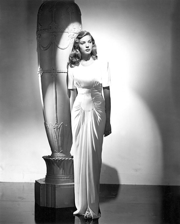 style tips for tall girls - Lauren Bacall