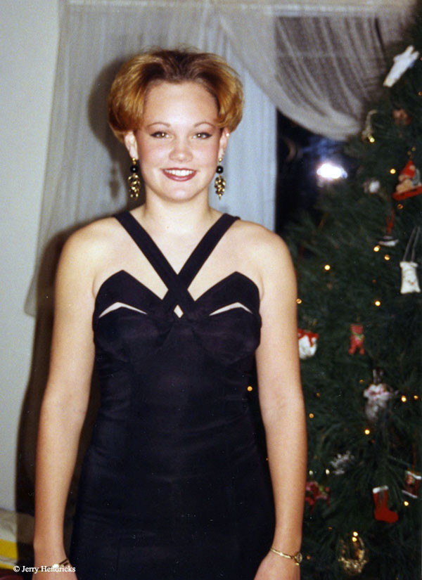 Christmas party dress 1993