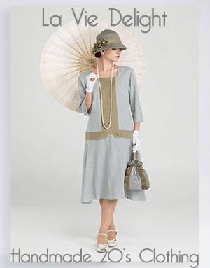 handmade 1920s dresses
