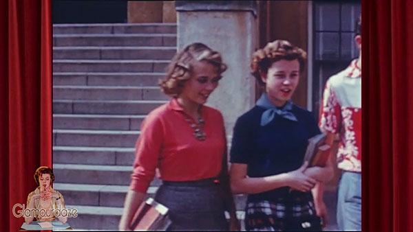 victim of gossip - 1950's teenage girl fashion