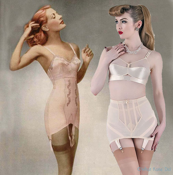 Vintage Inspired Girdles