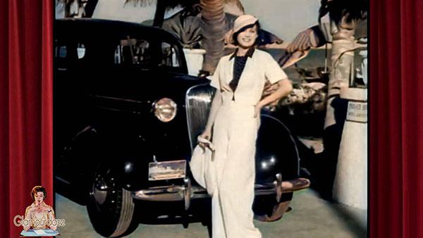 1930's beach pants