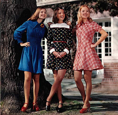look slimmer the 1970's way