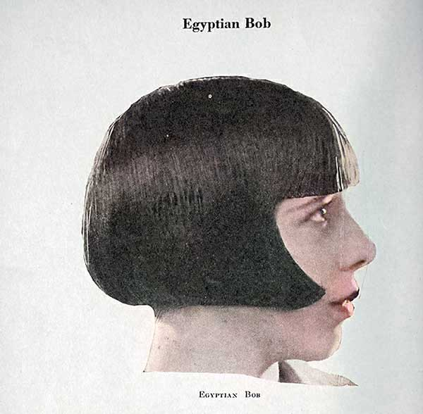 Egyptian bob hairstyle