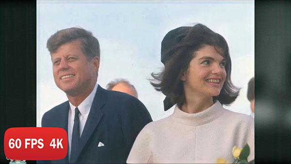 Jackie & John F Kennedy 1963