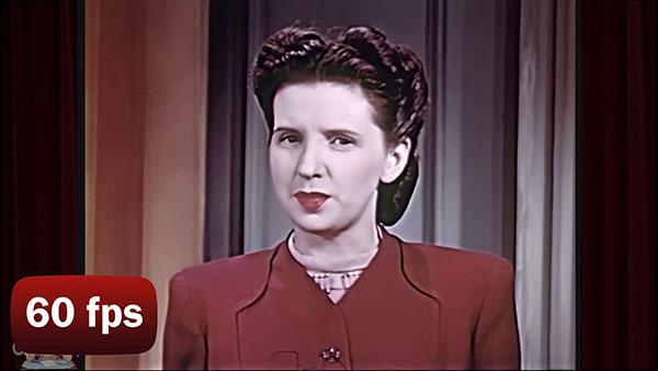 1940s makeup tutorial - AI enhanced