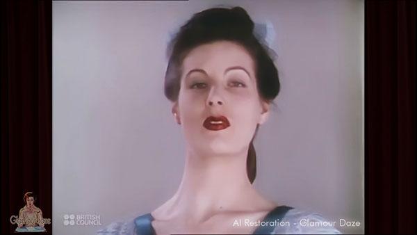 1940s fashion show - AI enhanced