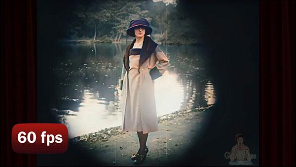Rare Paris fashion in 1917