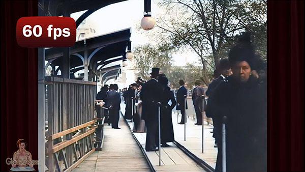 Parisiens en 1900