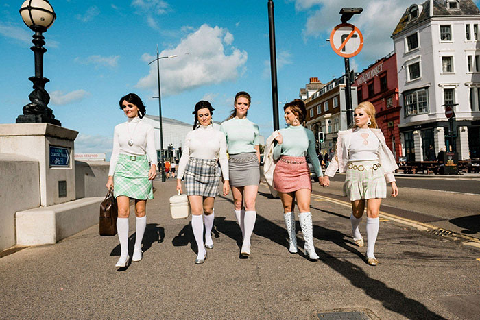 Mini Skirts - The Meyer Dancers. Photo by Rob Duncan