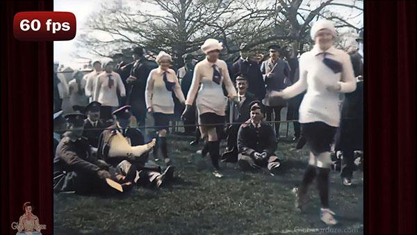 womens football 1918