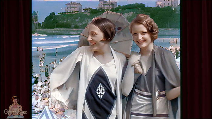 Biarritz France in the roaring 20s
